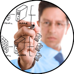 graphic representing IT services