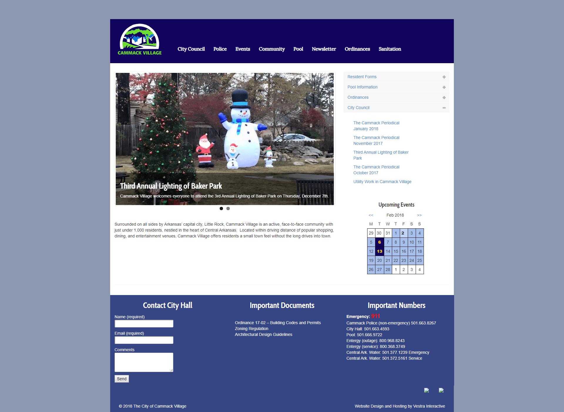 Old Cammack Village Website